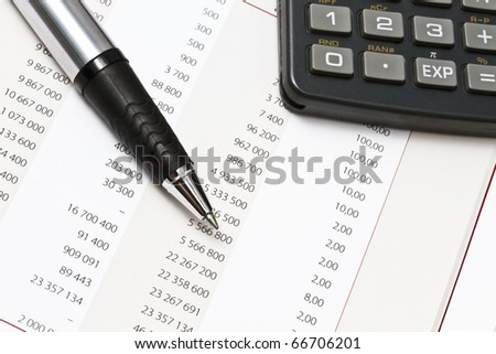 Data analyzing in stock market or others - stock photo