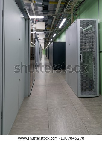 Data center in Central Moscow