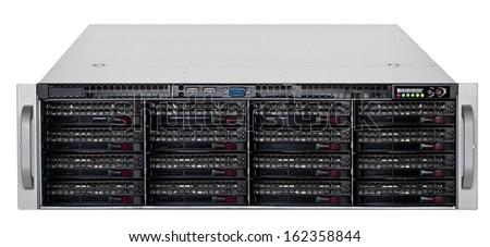 Data center - server - stock photo