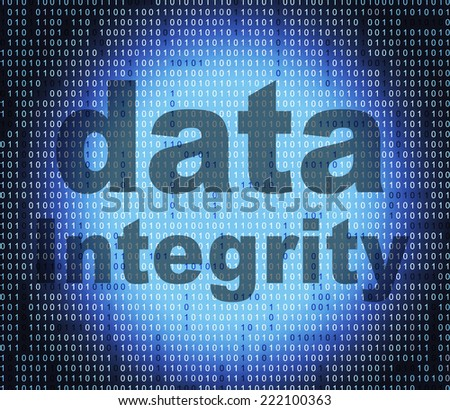 Data Integrity Meaning Honourable Knowledge And Facts