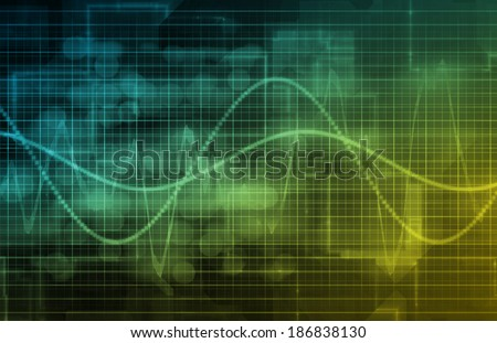 Data Management Information as a Concept Art - stock photo