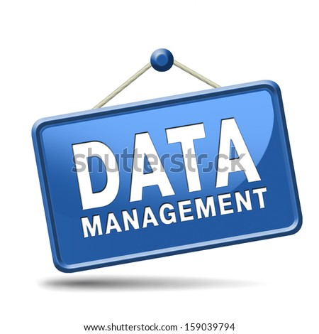 data management storage analysis and integration of big data - stock photo