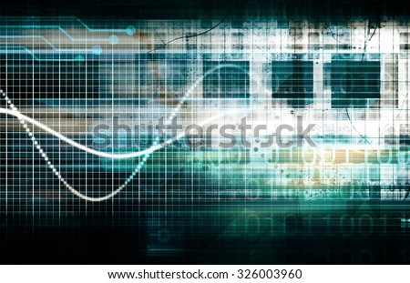 Data Protection and Internet Security Scanning Concept - stock photo