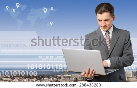 Data, research, search. - stock photo
