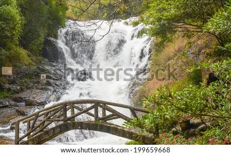 Datanla Waterfall - Da Lat, Vietnam - stock photo