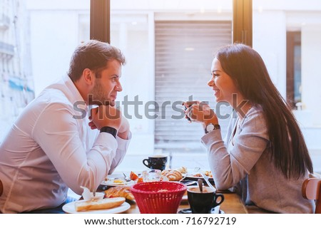 stock-photo-dating-man-and-woman-laughing-together-in-restaurant-happy-couple-drinking-coffee-and-eating-716792719 How one can Get a Good Selling price on an Ex Girlfriend Bride