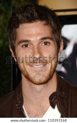 """Dave Annable at the Los Angeles Premiere of """"Things We Lost In The Fire"""". Egyptian Theatre, Hollywood, CA. 10-15-07 - stock photo"""