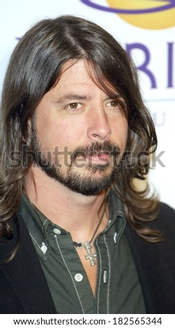 Dave Grohl of Foo Fighters at Clive Davis Pre-Grammy Party, Beverly Hilton Hotel, Los Angeles, CA, February 09, 2008 - stock photo