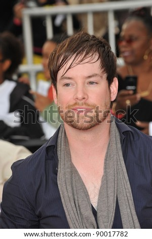 "David Cook at the premiere of Michael Jackson's ""This Is It"" at the Nokia Theatre, L.A. Live in downtown Los Angeles. October 27, 2009  Los Angeles, CA Picture: Paul Smith / Featureflash"