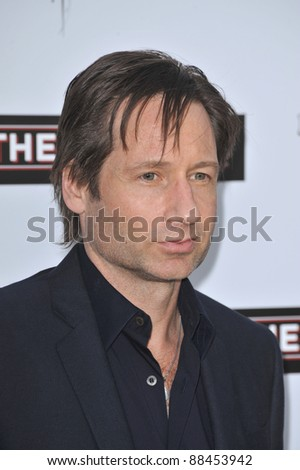 "David Duchovny at the Los Angeles premiere of his new movie ""The Joneses"" at the Arclight Theatre, Hollywood. April 8, 2010  Los Angeles, CA Picture: Paul Smith / Featureflash"