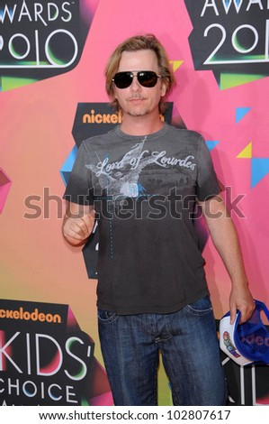 David Spade at the Nickelodeon's 23rd Annual Kids' Choice Awards, UCLA's Pauley Pavilion, Westwood, CA 03-27-10