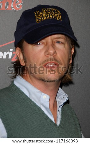 David Spade at the Verizon Rolling Stone Grammy Party. Avalon, Hollywood, CA. 02-09-07