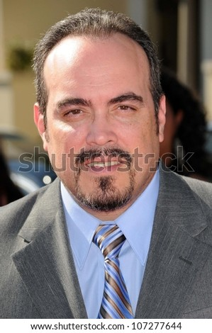 David Zayas  at the 2008 ALMA Awards. Pasadena Civic Auditorium, Pasadena, CA. 08-17-08