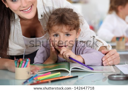 Day care center - stock photo