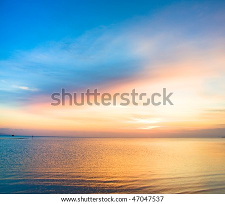 Day dawning - stock photo
