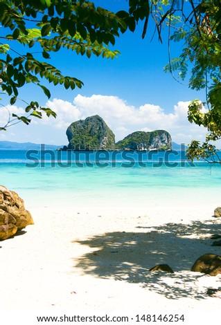 Day Dream Exotic Beach  - stock photo