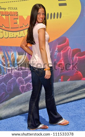"Dayanara Torres at the Opening of Disneyland's ""Finding Nemo Submarine Voyage"". Disneyland, Anaheim, CA. 06-10-07"