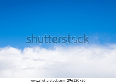 daytime sky Abstract Unique - stock photo