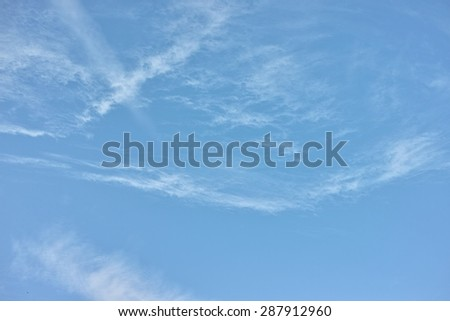 daytime sky, artistic abstract background - stock photo