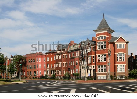 DC Rowhouses- south Logan Cr