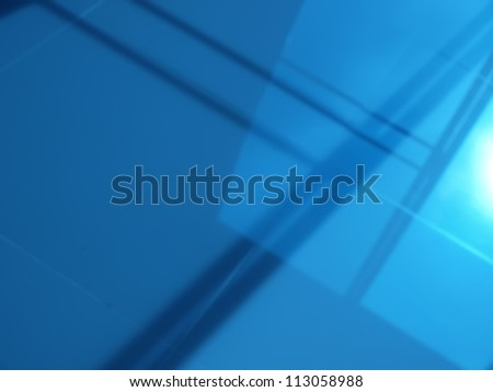 de-focus shadow of window use as background - stock photo