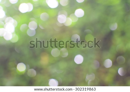 de-focused of abstract nature background