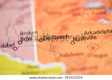 De Queen. Arkansas. USA - stock photo