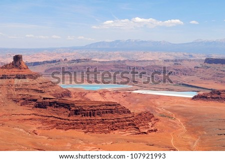 Dead Horse Point Park in Utah, USA