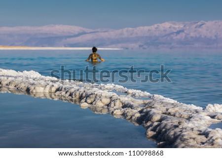 Dead Sea 2 - stock photo