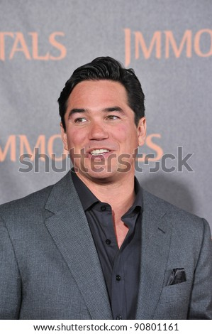 "Dean Cain at the world premiere of ""Immortals"" at the Nokia Theatre L.A. Live in downtown Los Angeles. November 7, 2011  Los Angeles, CA Picture: Paul Smith / Featureflash - stock photo"