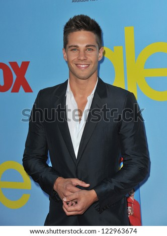 "Dean Geyer at the season four premiere of ""Glee"" at Paramount Studios, Holywood. September 12, 2012  Los Angeles, CA Picture: Paul Smith - stock photo"