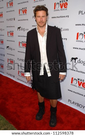 "Dean McDermott at the ""Bow Wow Wow"" Celebrity Fundraiser For Much Love Animal Rescue. Playboy Mansion, Los Angeles, CA. 07-14-07 - stock photo"