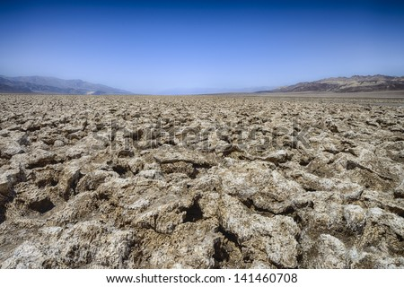 death valley, ca, usa - stock photo