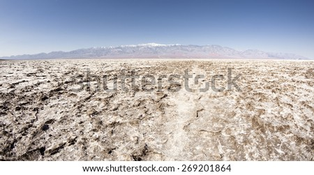 Death Valley National park - stock photo