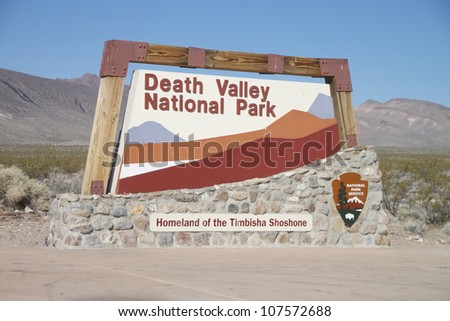 Death Valley National Park, USA - stock photo