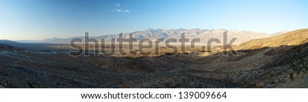 Death Valley Panorama, California - stock photo