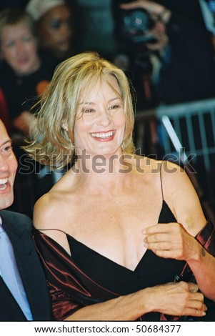 DEAUVILLE, FRANCE - SEPTEMBER 10: Actress Jessica Lange attends the premiere of 'Normal' at the 29th American Film Festival of Deauville September 10, 2003 in Deauville, France.