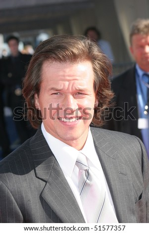 DEAUVILLE, FRANCE - SEPTEMBER 10: US actor Mark Wahlberg arrives at the premiere for Four Brothers at the 31st Deauville Festival Of American Film on September 10, 2005 in Deauville, France.