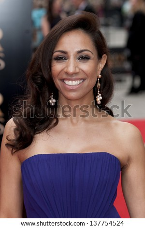Debbie Kurups arriving for the Laurence Olivier Awards 2013 at the Royal Opera House, Covent Garden, London. 28/04/2013