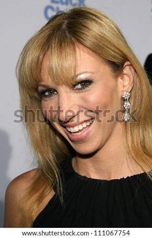 """Deborah Gibson at the Los Angeles Premiere of """"Good Luck Chuck"""". Mann National Theater, Westwood, CA. 09-19-07 - stock photo"""