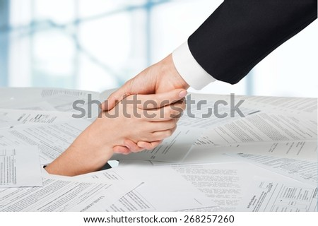 Debt, Finance, Bill. - stock photo