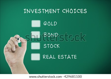 decision abount invesment choices on blackboard