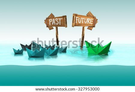 decision making concept - stock photo