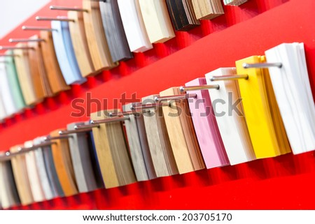 Decor clorful palette - stock photo