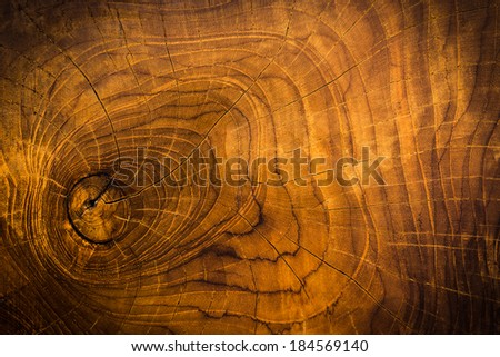 Decorate wood texture background - stock photo