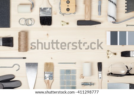 Decorating Tools Stock Photos Royalty Free Images Vectors