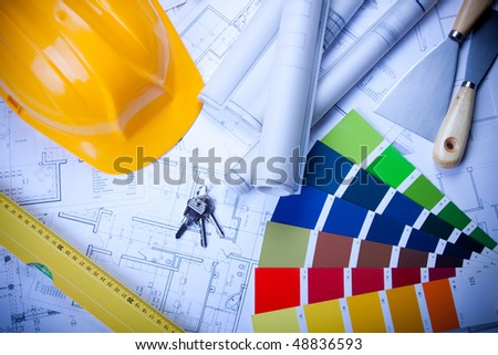 Decorating your home - stock photo