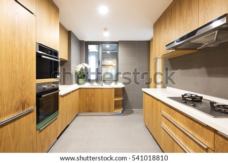 decoration and design in modern kitchen