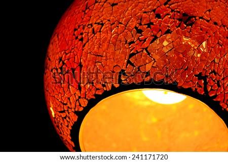 Decoration lamp - stock photo