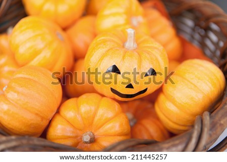Decoration pumpkin of Halloween